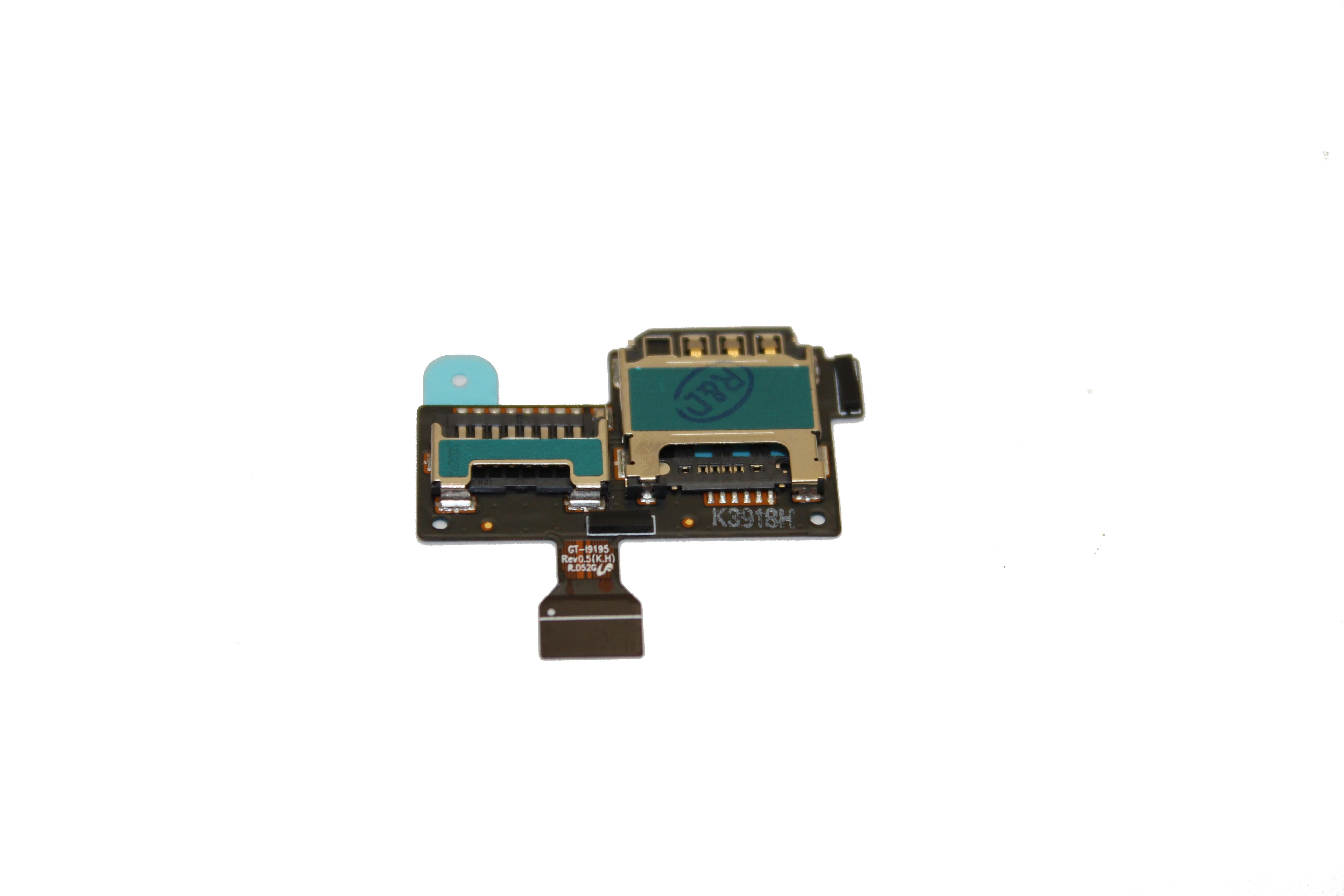 Lanksčioji jungtis Samsung i9190/i9195 S4 Mini SIM originali