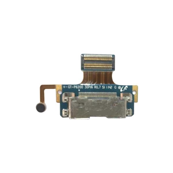 Lanksčioji jungtis Samsung P6200 Tab 7.0 su įkrovimo kontaktu ir mikrofonu originali
