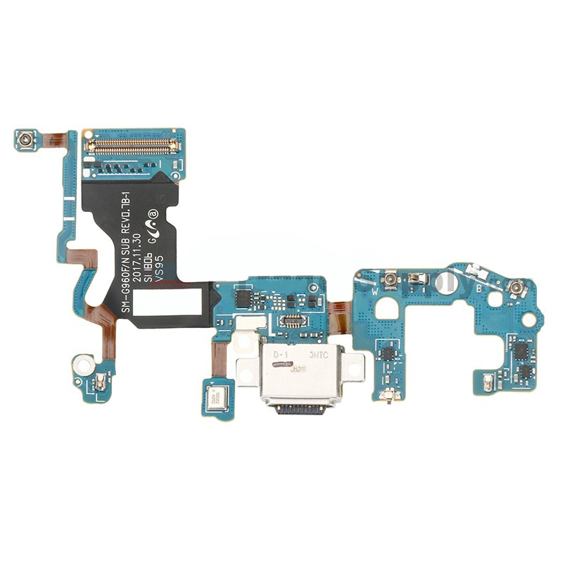 Lanksčioji jungtis Samsung G960F S9 su įkrovimo kontaktu ir mikrofonu ORG