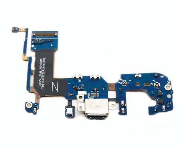 Lanksčioji jungtis Samsung G955F S8 Plus su įkrovimo kontaktu ir mikrofonu ORG