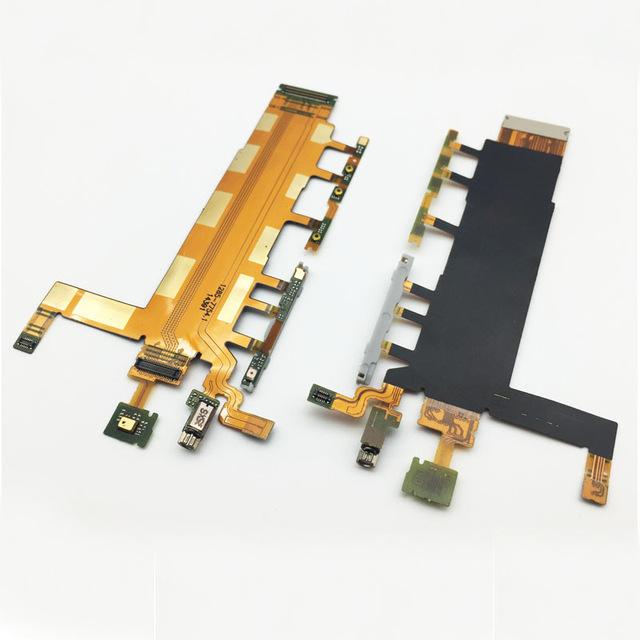 Lanksčioji jungtis Sony D6602/D6603/Z3 šoninių mygtukų su mikrofonu (3G vers.) ORG