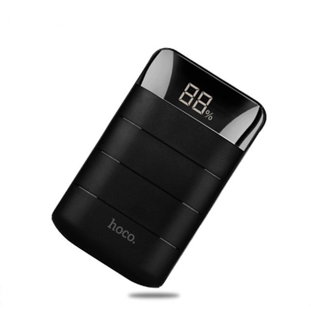 Išorinė baterija Power Bank Hoco B29 10000mAh juoda