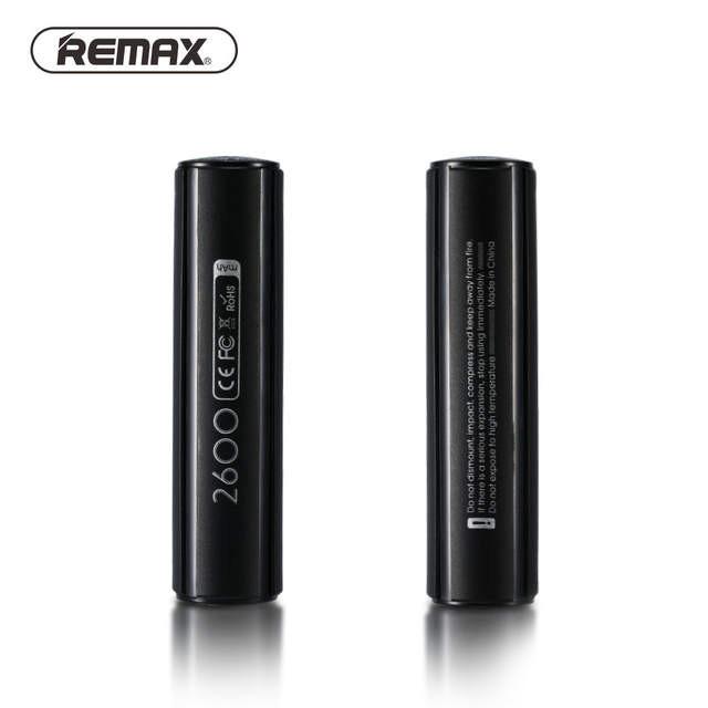 Išorinė baterija Power Bank Remax RPL-33 2600mAh juoda