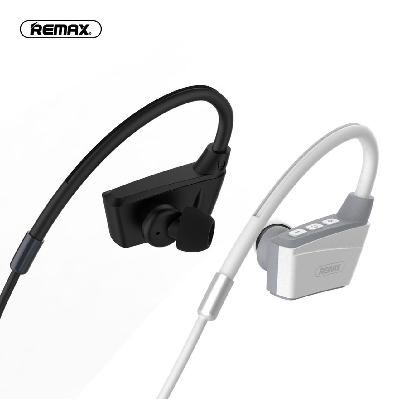 Belaidė laisvų rankų įranga Remax RB-S19 Bluetooth juoda