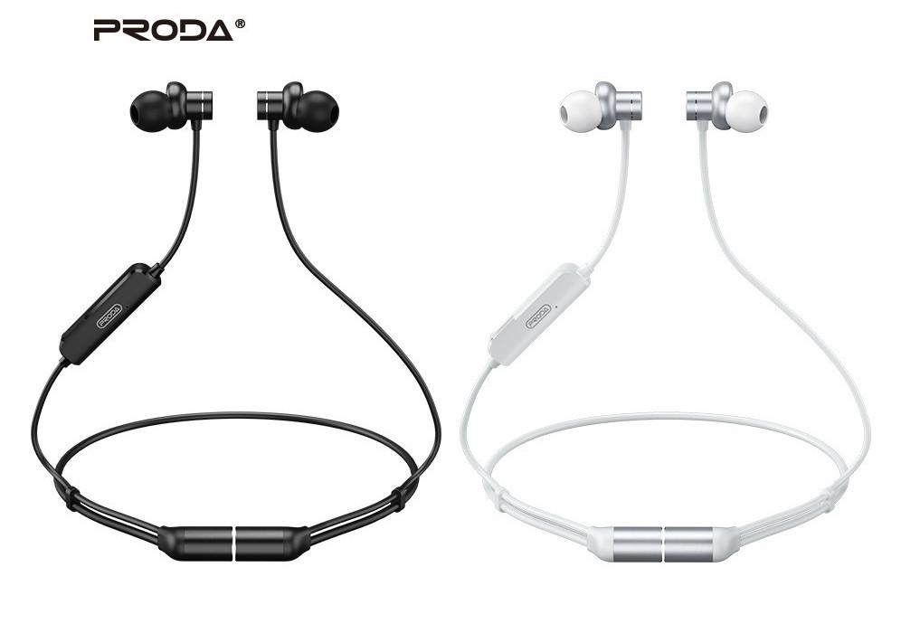 Belaidė laisvų rankų įranga Proda PD-BN400 Bluetooth juoda