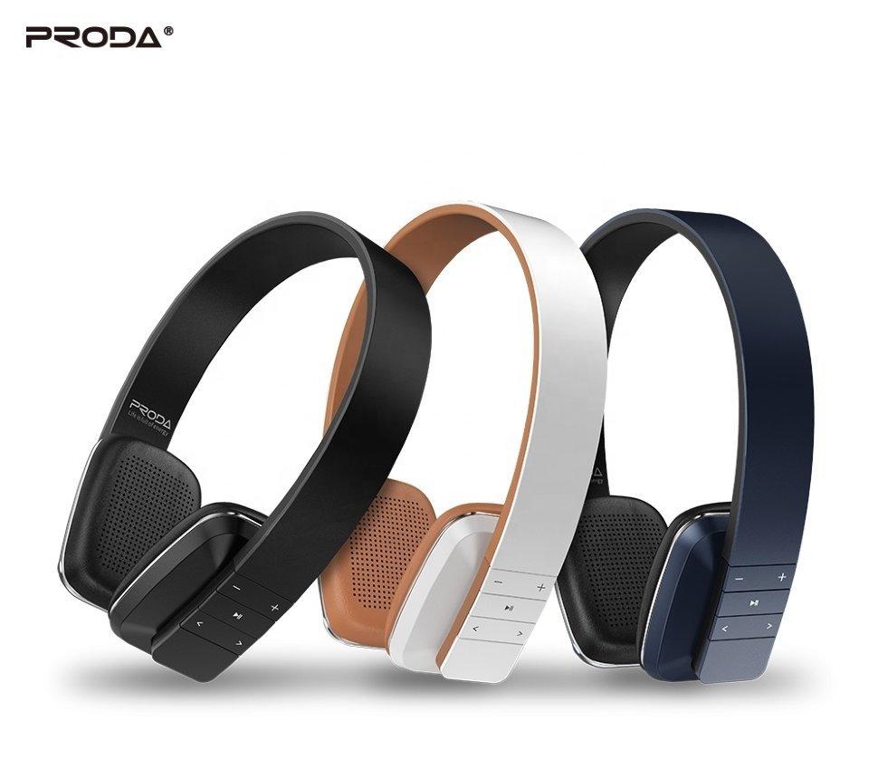 Belaidė laisvų rankų įranga Proda PD-BH300 Bluetooth juoda