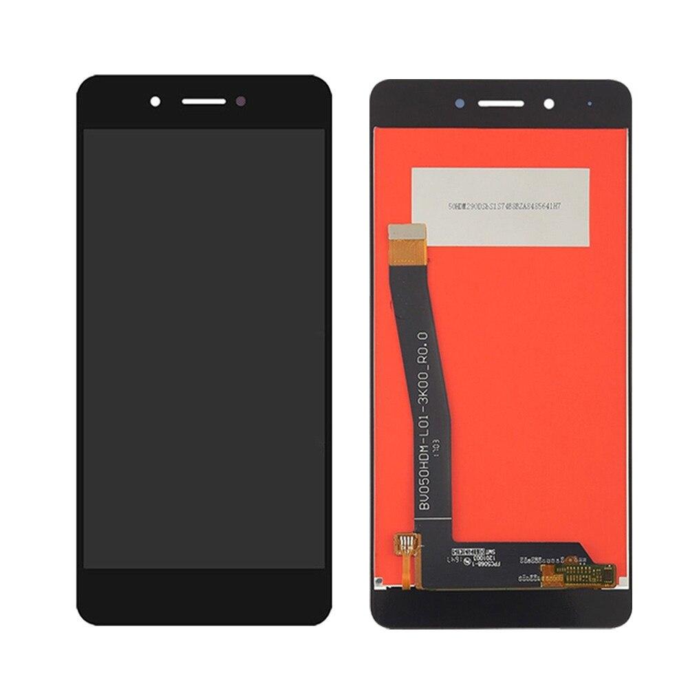 Ekranas Huawei Honor 6C (DIG-L01) / Enjoy 6s / Nova Smart (DIG-L21) su lietimui jautriu stikliuku juodas HQ