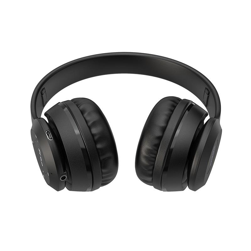 Belaidės ausinės Borofone BO4 juodos spalvos