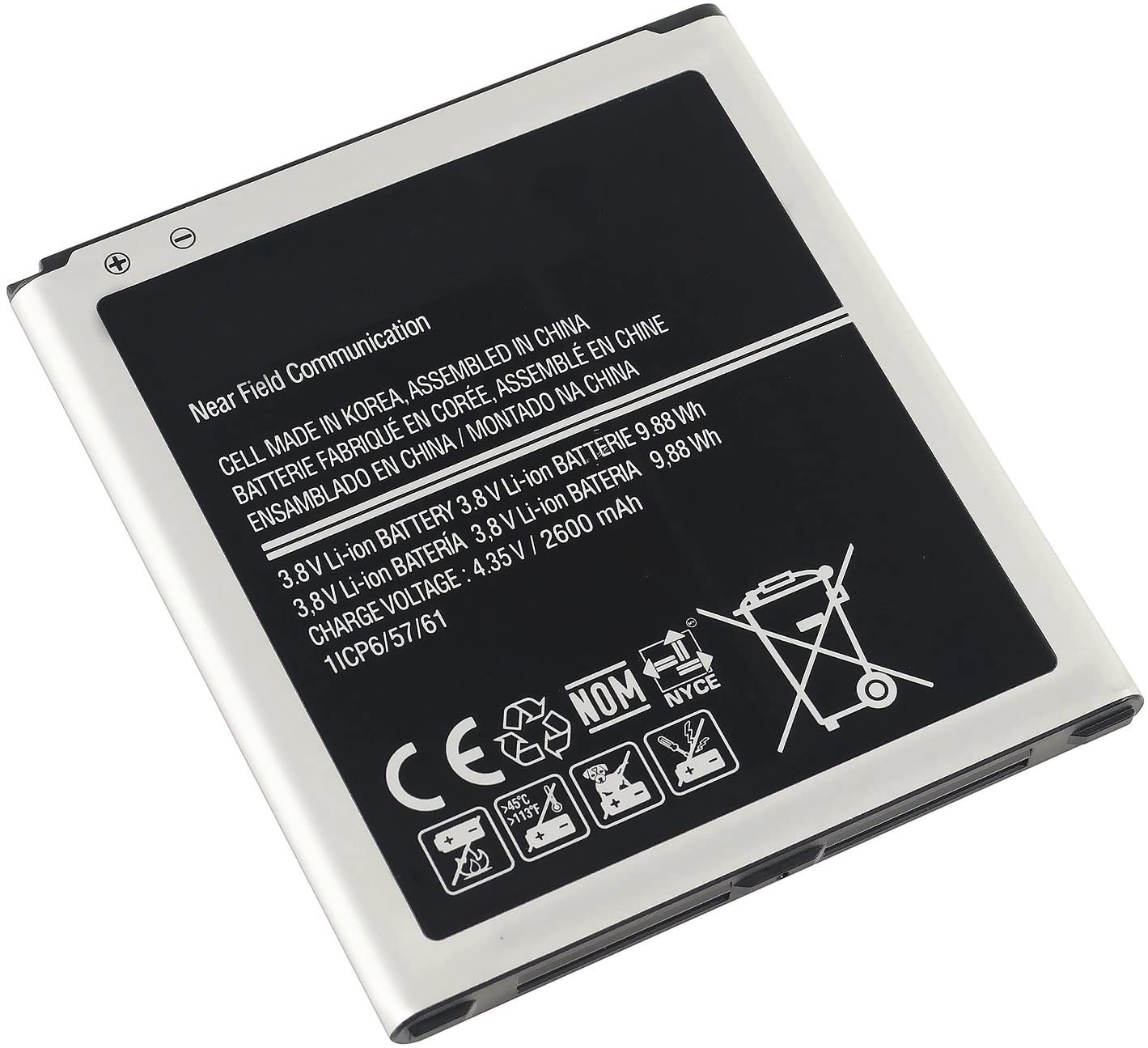 Akumuliatorius Samsung S3350 800mAh AB463851BA/M350/S3850(Corby 2)/Trender/S3778/T379